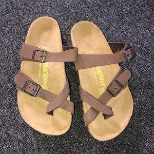 Birkenstock Mayari Brown Sandals